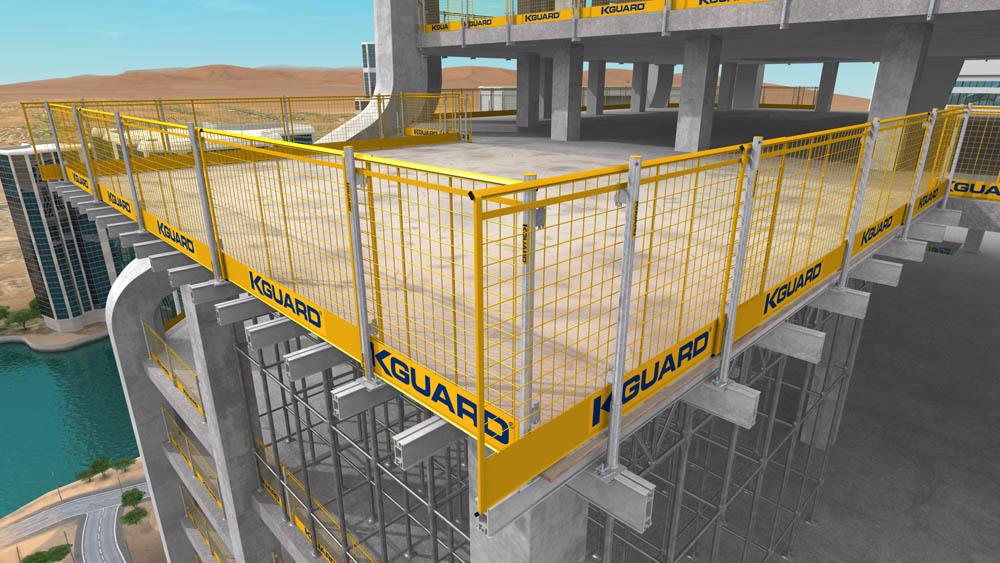 Construction Deck Barriers